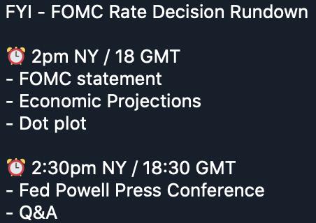 FOMC Zinsentscheidung