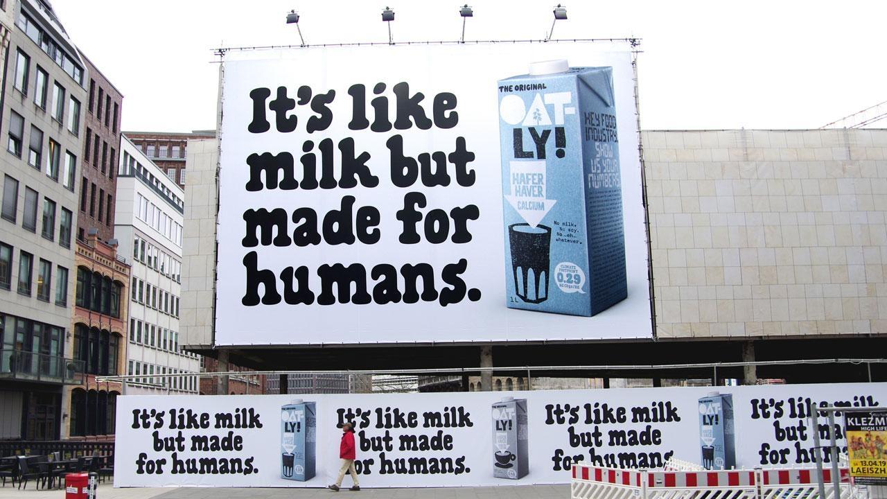 Milch-Banner