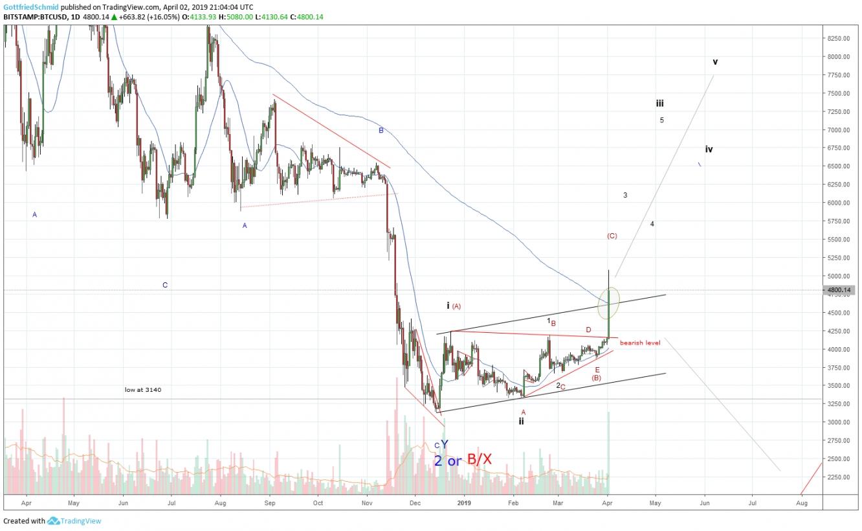 Bitcoin Bulle oder Bär?