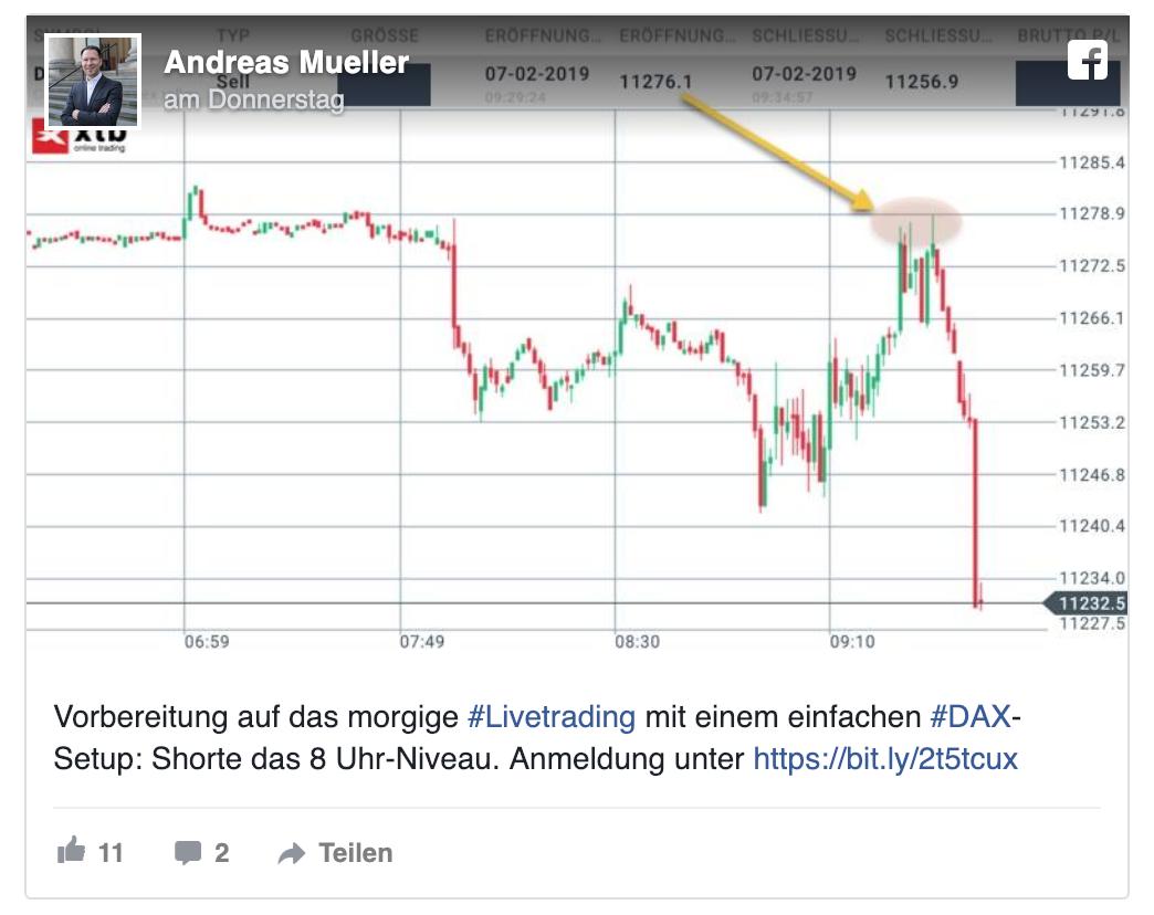 Facebook - Andreas Mueller
